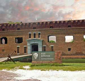 Fort Jefferson - Florida Ghost Town