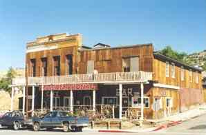 International Hotel Oldest In Nevada A Portion Of The Bar And East Side Building Was Orginial Virginia City