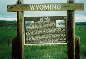 Arland Wyoming Ghost Town